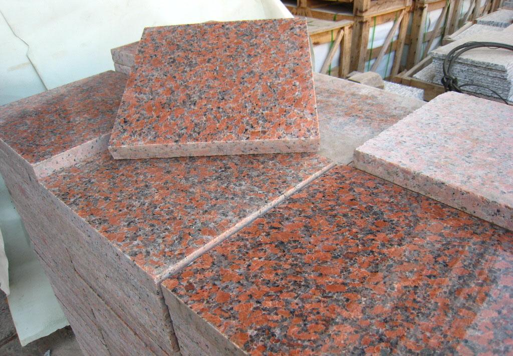 Red patio slabs prirodny kamen 100 arcadeck composite for Vinegar on concrete floor
